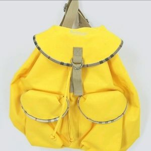 💛CEARANCE 🖤New Burberry Vintage Backpack Yellow